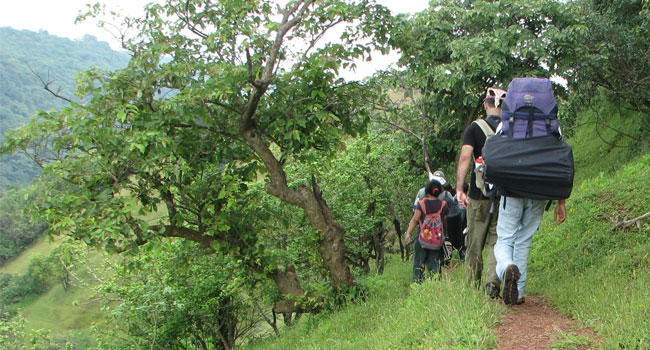 Trekking is not difficult …If you know how to walk