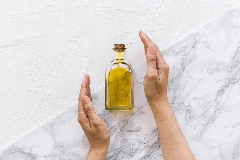 homemade hair oil
