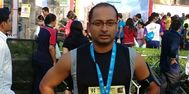 This year's Thane Half Marathon improved timing of 2:12:50
