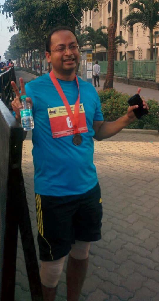 Last year Thane Half Marathon clocked a timing of 2:43:45