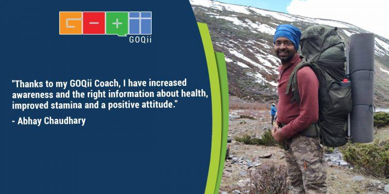 Climbing the Peak of Good Health | Abhay Chaudhary User Journey