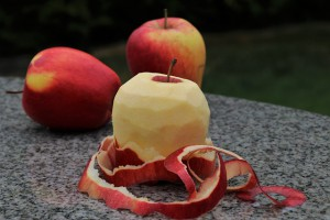 Apple peel 1