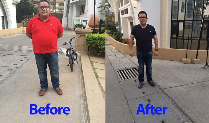 """""""#FitBy40: To lose 40 KGS by the time I turn 40 in Feb'2017"""""""