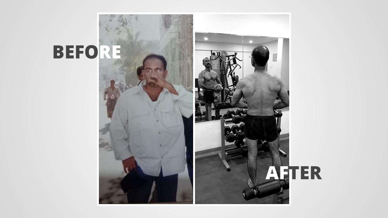 Abhishek Kher's Amazing Transformation