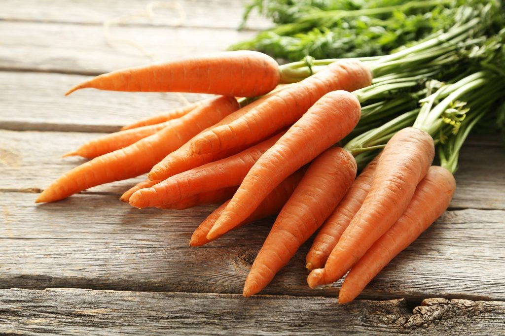carrots during winter