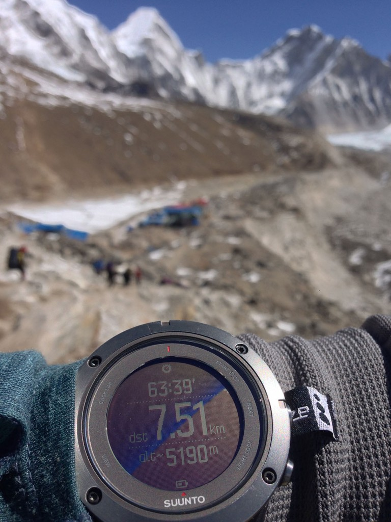 Dhwal at 5190 mts ( 17,127 ft) -Enroute to EBC