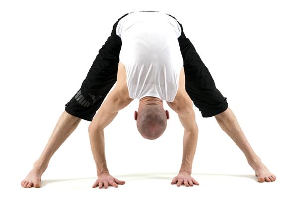 yoga for golf - forward bend