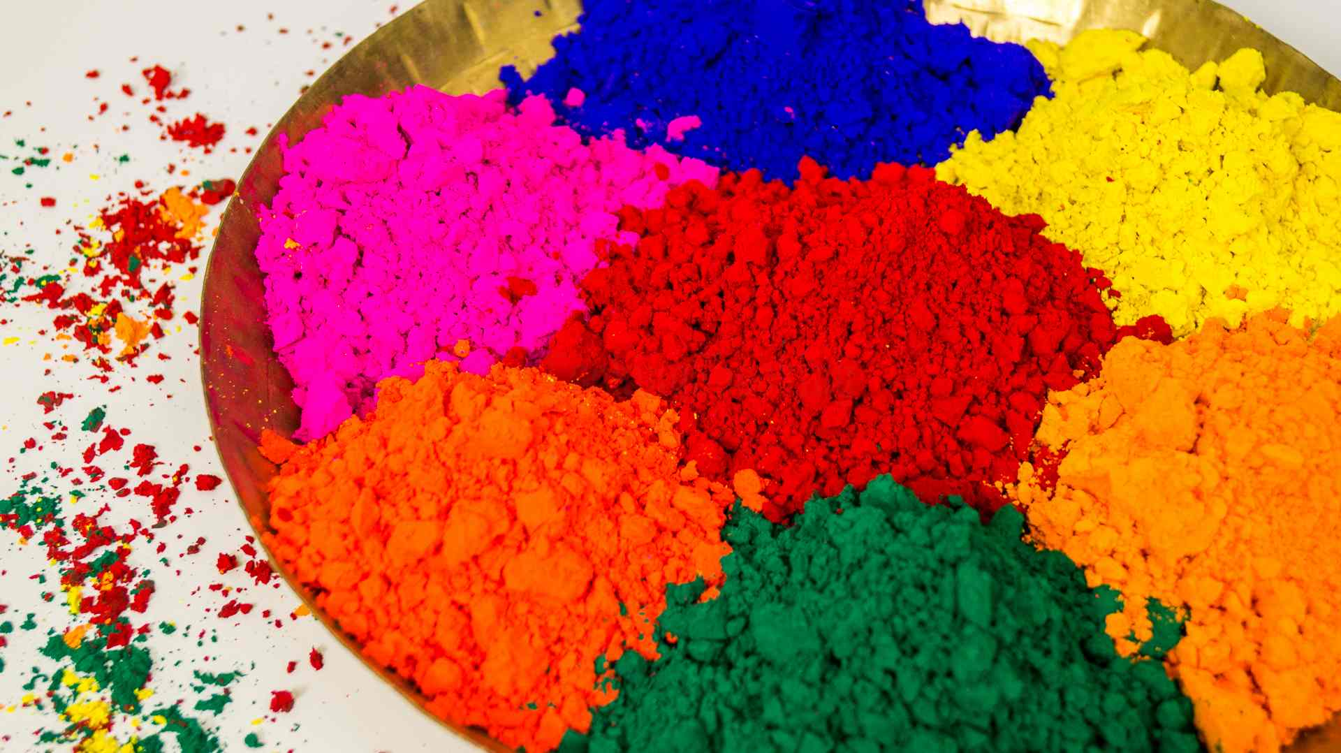 Image result for colors of Holi