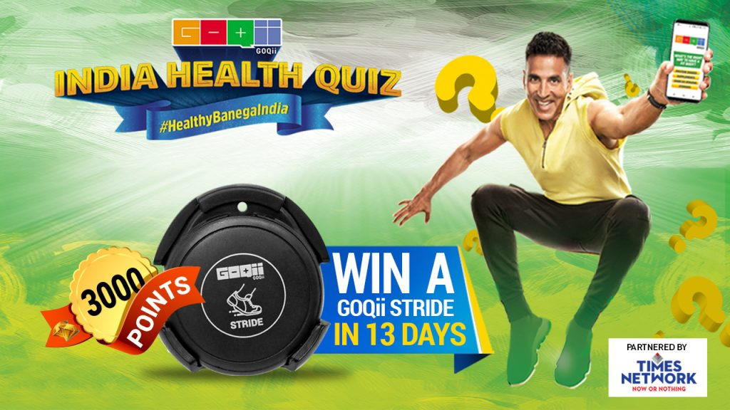 win a GOQii Stride