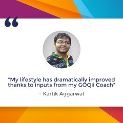 Kartik Aggarwal's Journey to Being Healthy