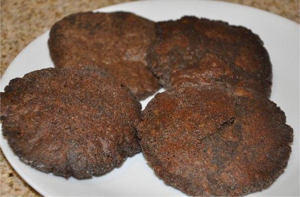 Kuttu Ke Aate Ki Poori - कुट्टू के आटे की पूरी (Fried Bread of Buckwheat Flour)