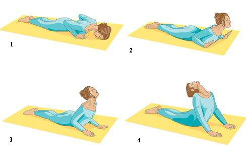 Menstrual Cramps-Yoga pose 5