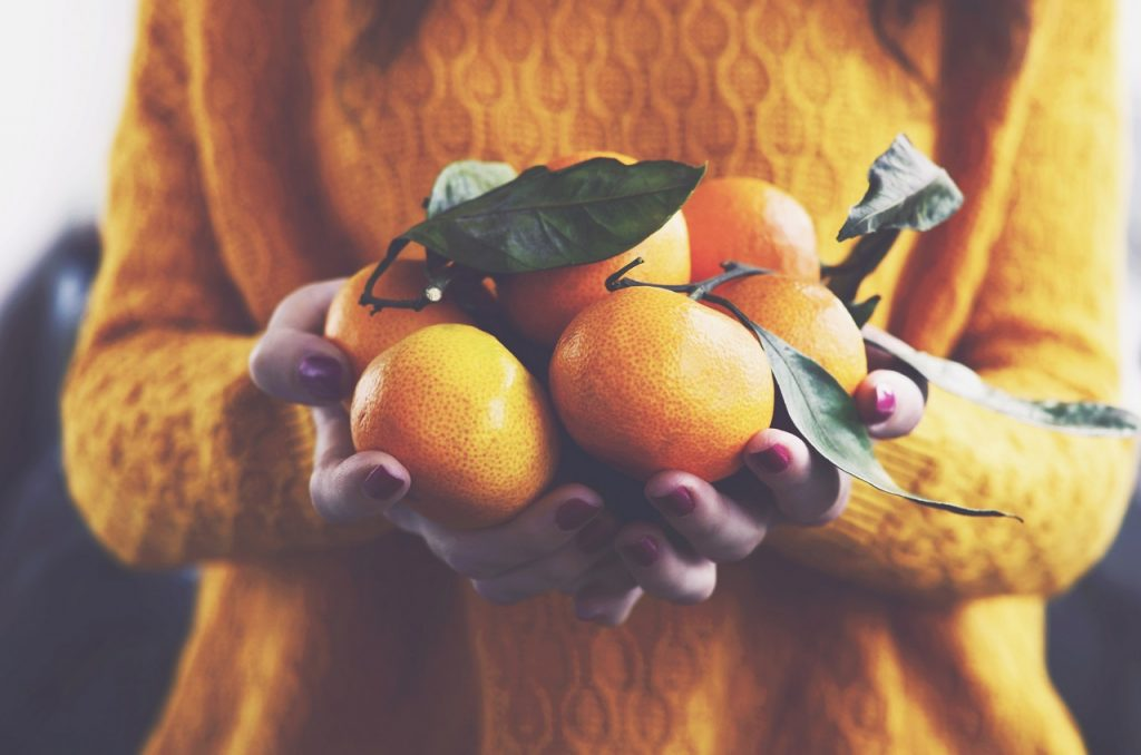 oranges during winter