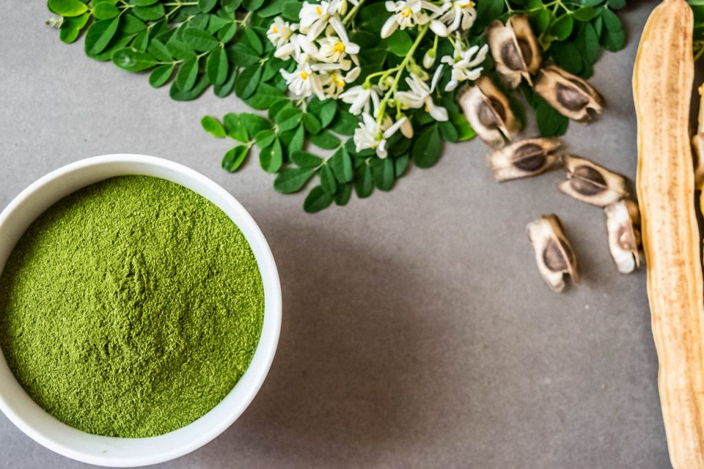 recipes using moringa powder