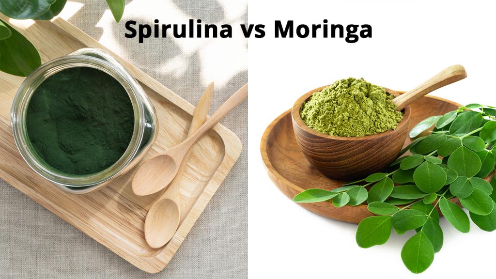 Spirulina vs Moringa
