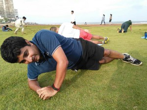 Sundays have never been better Swarup training with Goqii at Active Sunday