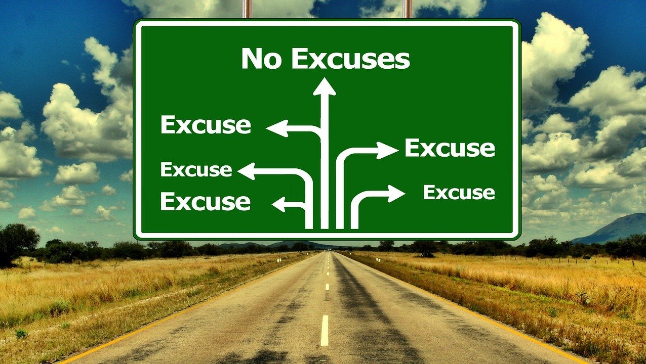 Top 10 Excuses to Avoid Being Fit