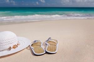 beach-coast-flip-flops