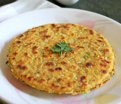 cabbage chapati