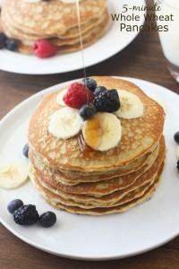 flour pancakes