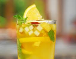 ICED FRUITY GREEN TEA