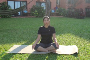 image 1 first yoga pose