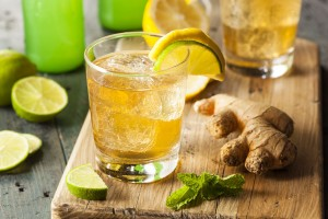 LEMON GINGER TEA COOLER