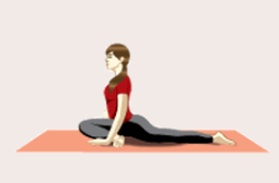 menstrual cramps- yoga pose 1