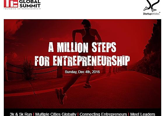 """StartUp Strides """"Run for Entrepreneurship"""""""