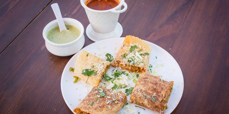Healthy Eating: Schezwan Dosa