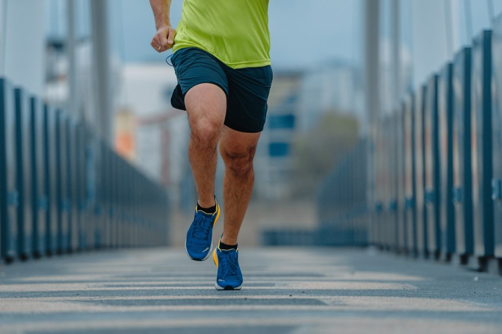 running lead to muscle loss