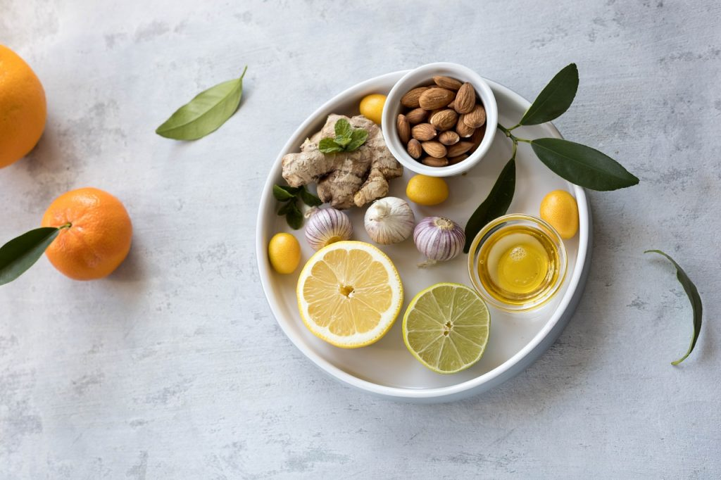 build immunity with antiviral foods