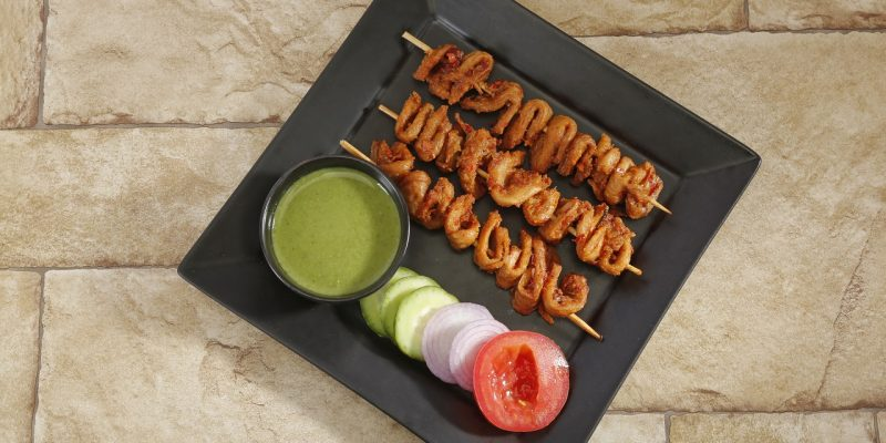 Healthy Eating: Hariyali Soya Tikka