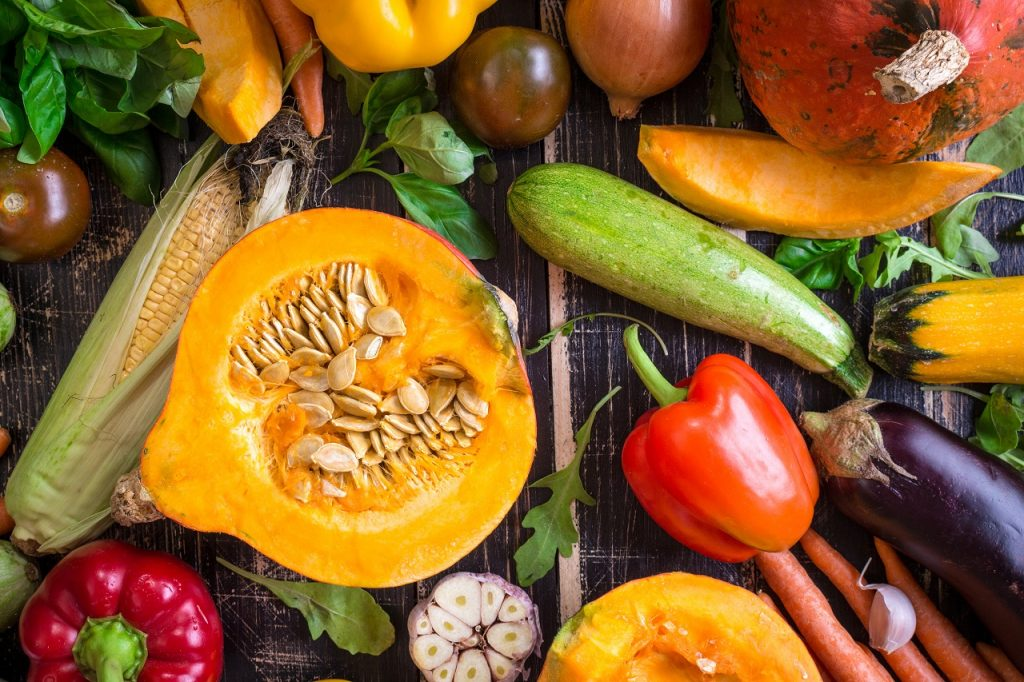 recipes with seasonal vegetables