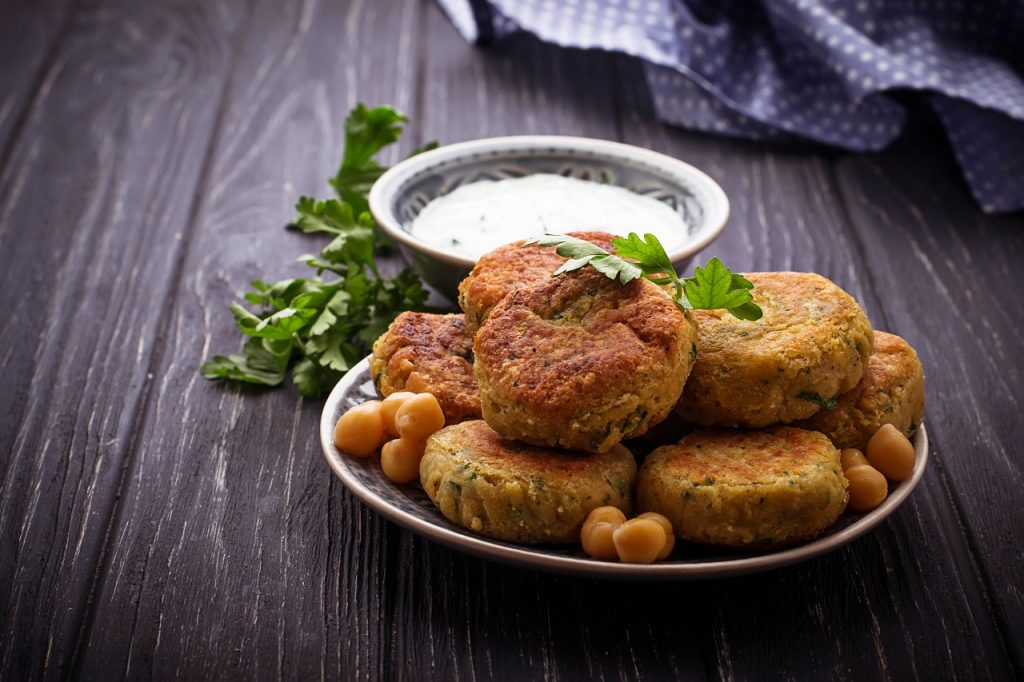chickpea soya cutlet
