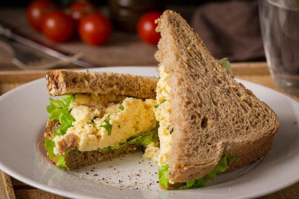 masala egg sandwich