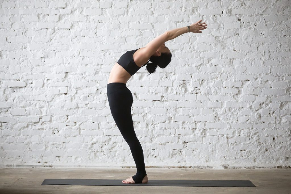 back bend stretch - 5 simple stretches