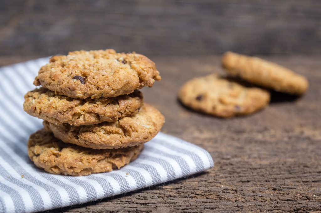 oats and gram flour cookies