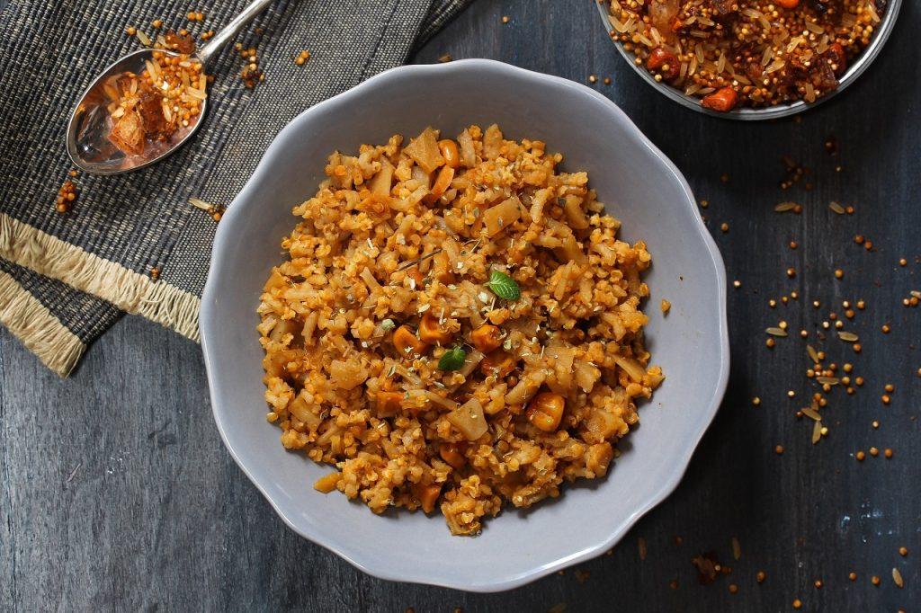 Chinese Quinoa Pulao