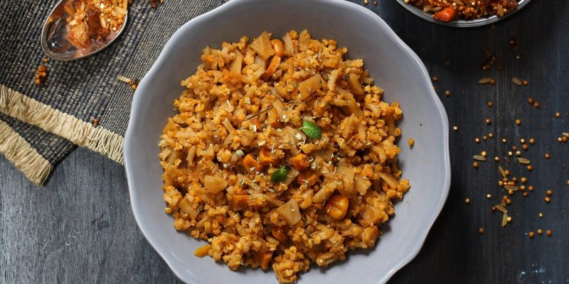 Healthy Eating: Chinese Quinoa Pulao