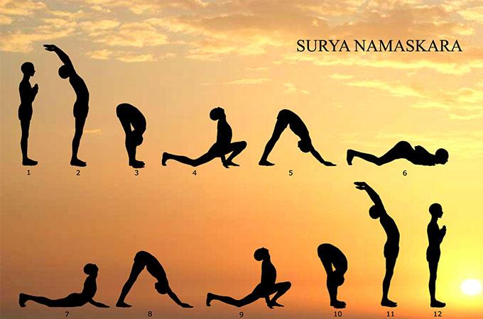 privalumai Surya namaskar svorio galios svorio fareham